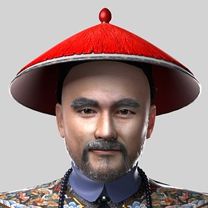 3D Officials of the Qing Dynasty of China