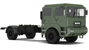 kraz 5401 chassi 3D model