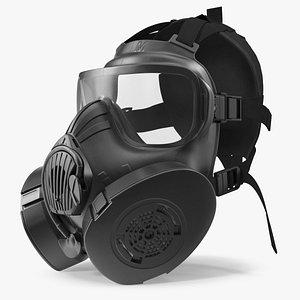 3D JSGPM M50 Full Face Gas Mask model