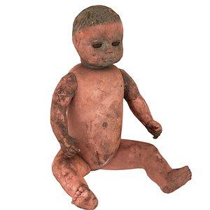 Small Doll USSR 01 01 3D model