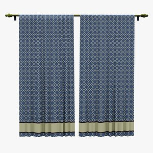 House Curtain 3D model