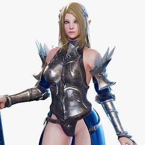 elf ready 3D model