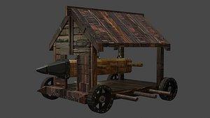 medieval siege 3D model