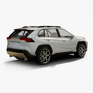 toyota rav 4 3D model