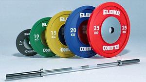 3D bar eleiko weight model