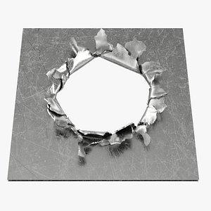 3D model Metal Tear