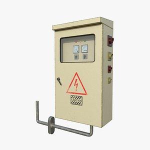 Electrical Control Box 3D model