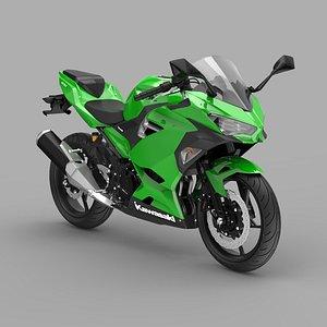 3D Kawasaki Ninja 400 2021