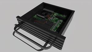 3D server single model