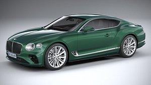 Bentley Continetal GT Speed 2022 3D model