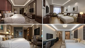 Hotel Room Collection 2 3D model