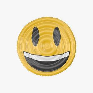 Very Happy Emoji Pool Float 3D model