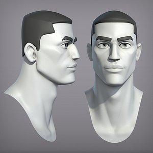 3D cartoon male character