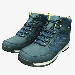 3D trekking shoes