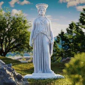 3D statue sculpture