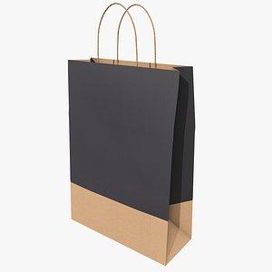 Paper Bag 2 With PBR 4K 8K 3D model