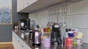 kitchen assets 3D