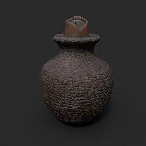 3D model Candle Jar Holder