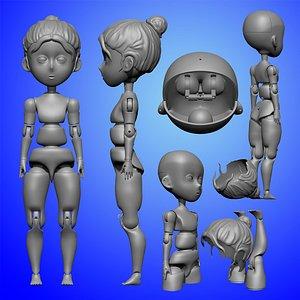puppet títere 3D model