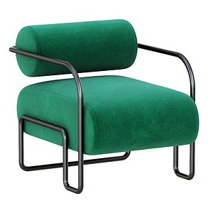 3D Ardent Club Chair