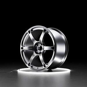 RAYS VOLK RACING TE037 DURA Car wheel 3D model