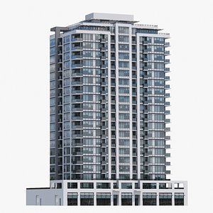 Vancouver Apartments V8 3D model