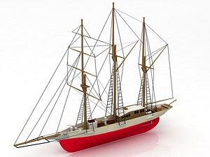 Amphi Boat 3D