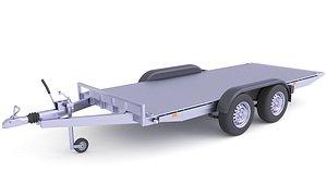 Heavy Duty Cargo Trailer 27 model