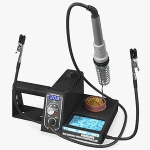 3D X Tronic Model 3020 XTS LED Soldering Station Kit