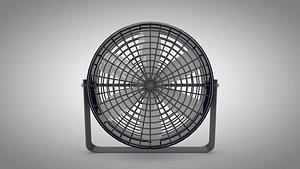3D fan exhaust