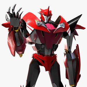 Knockout  Transformers Prime 3D model