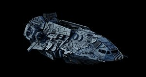 star wars spearhead-class corvette 3D