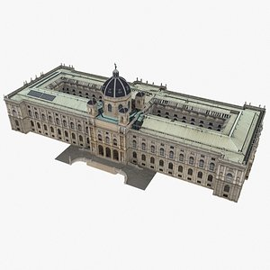 natural history museum vienna 3D model