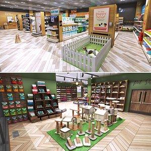 3D model Pet Shop Collection