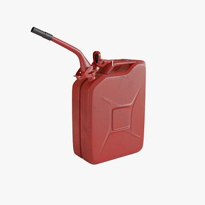 Fuel Can Gaming 3D model