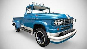 dodge power wagon 3D model