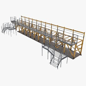 steel platform framework modular model