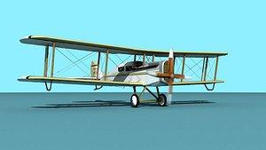 Airco DH-4 Outback Air Trans 3D model