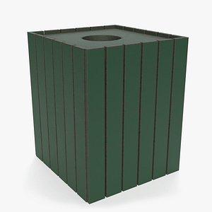 outdoor trash 3D model