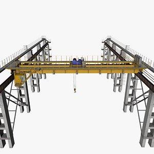 crane overhead model
