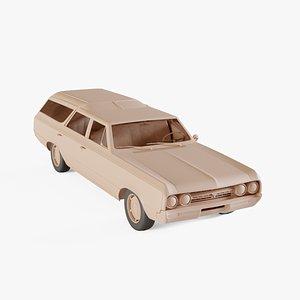 1964 Oldsmobile Vista Cruiser 3D model