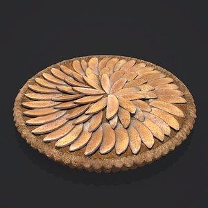 Apple Slice Pie 3D