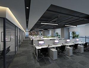Office Office Office Large Office Office Hall Office Roam Modern Office Manager's Office Card Block 3D model