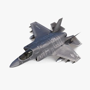 fighter airplane 3D model