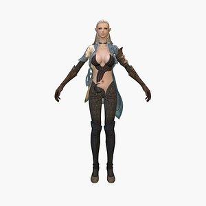 elf princess 3D model