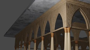 3D pergola arch