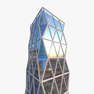 Hearst Tower Building 3D model