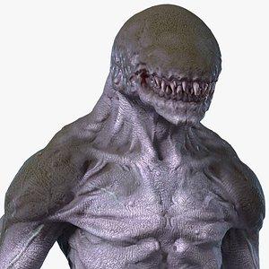 monster beast rigged 3D