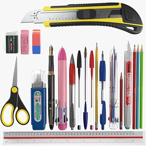 School Supplies Collection model