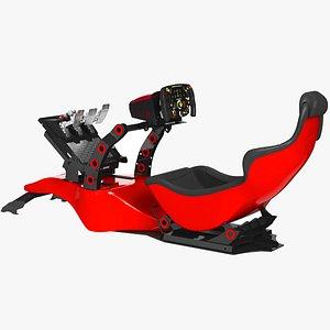 RSeat RS Formula V2 Racing Simulator Seat 3D model